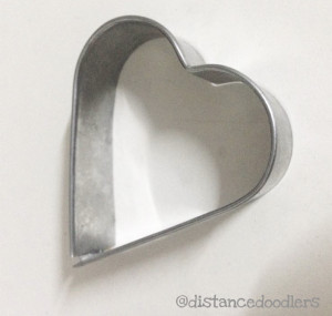 Valentine heart shaped Hello Kitty cookies recipe